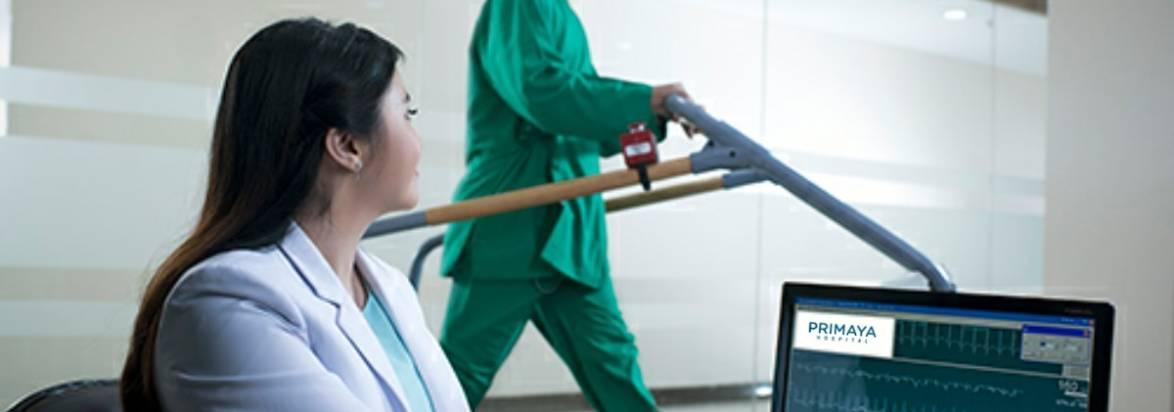tes treadmill pemeriksaan fisik jantung rumah sakit awal bros