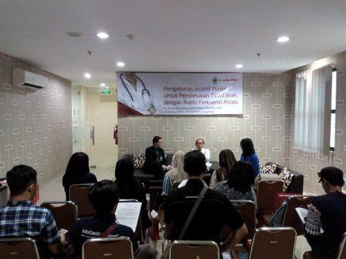 Pengobatan Minimal Invasif Untuk Pembesaran Tiroid Jinak Dengan Radio Frekuensi Ablasi (RFA) di RS Awal Bros, RS Awal Bros Tangerang