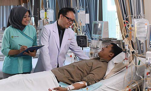 hemodialisa untuk gagal ginjal, rumah sakit awal bros makassar, rs awal bros