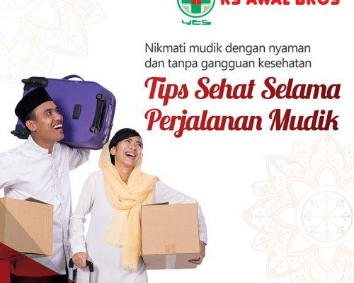 Tips Mudik, RS Awal Bros