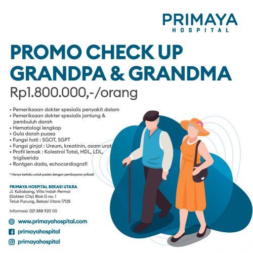 Square promo grandpa grandma bekasi utara Primaya