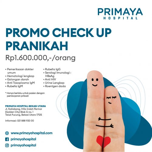 Promo Paket Medical Check Up PraNikah