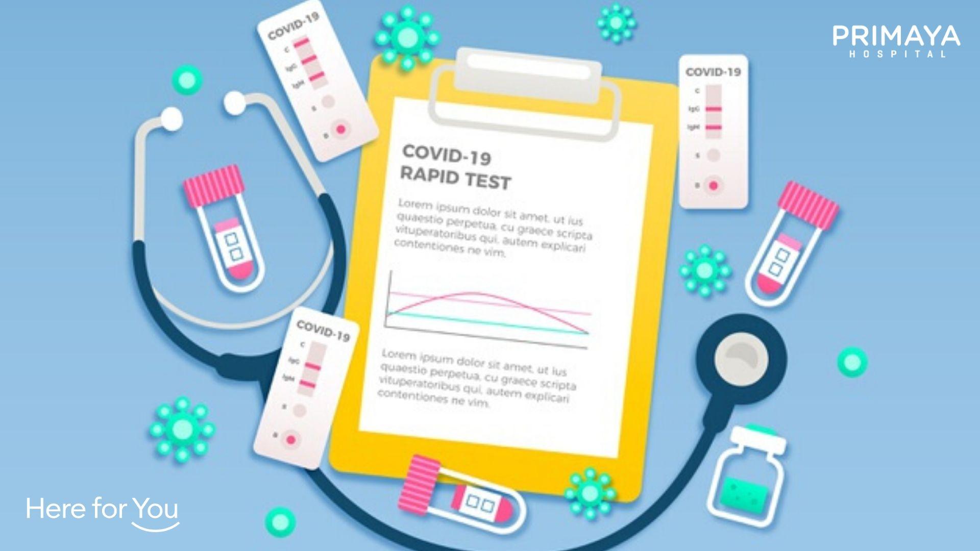 Apa itu Rapid Test Antibodi untuk deteksi SARS-CoV2