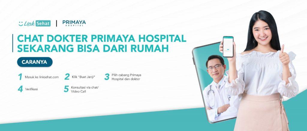 Layanan Konsultasi Online Telekonsultasi Primaya Hospital Link Sehat