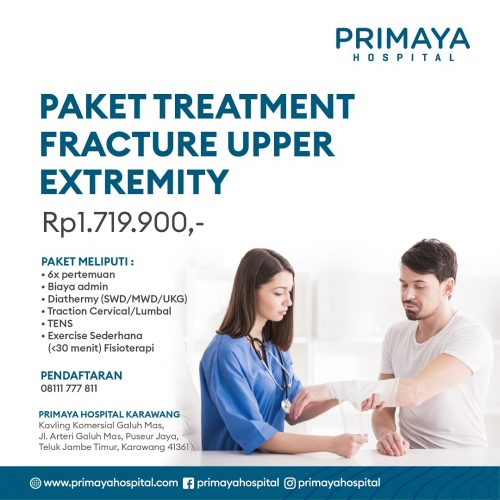 PAKET TREATMENT FRACTURE UPPER EXTREMITY