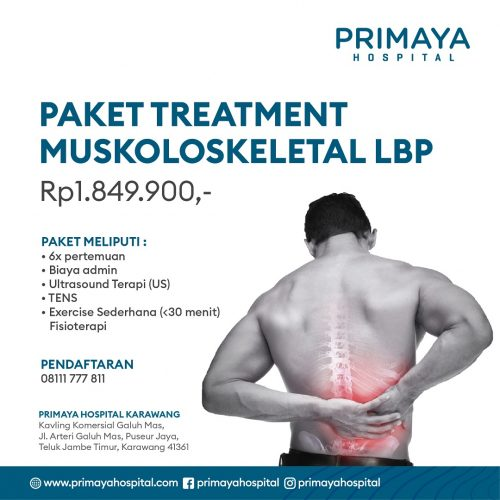 Paket Treatment Muskoloskeletal LBP