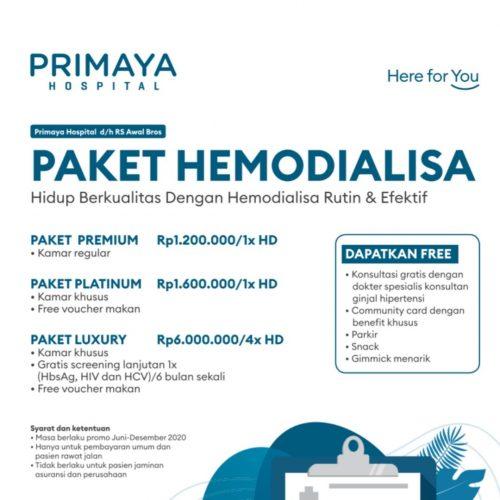 paket hemodialisa