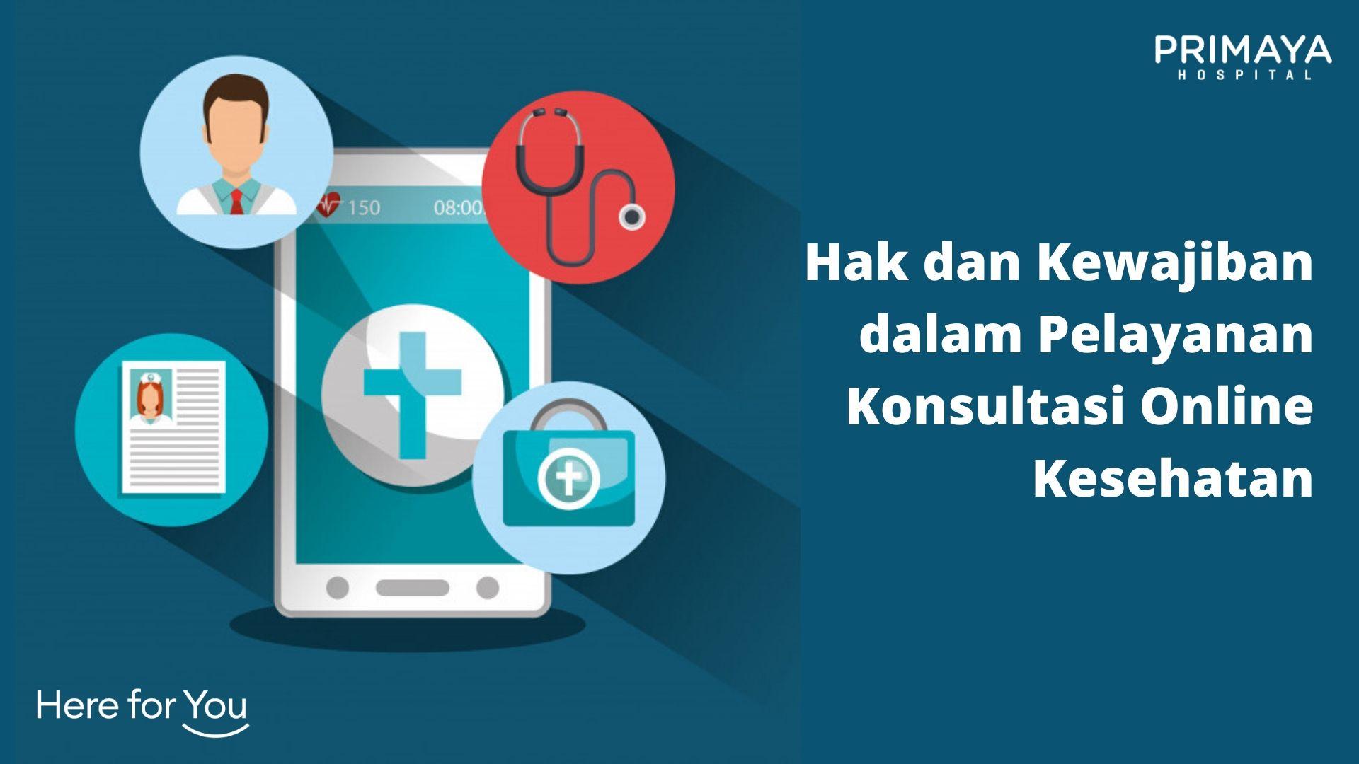 Hak dan Kewajiban dalam Pelayanan Konsultasi Online Kesehatan
