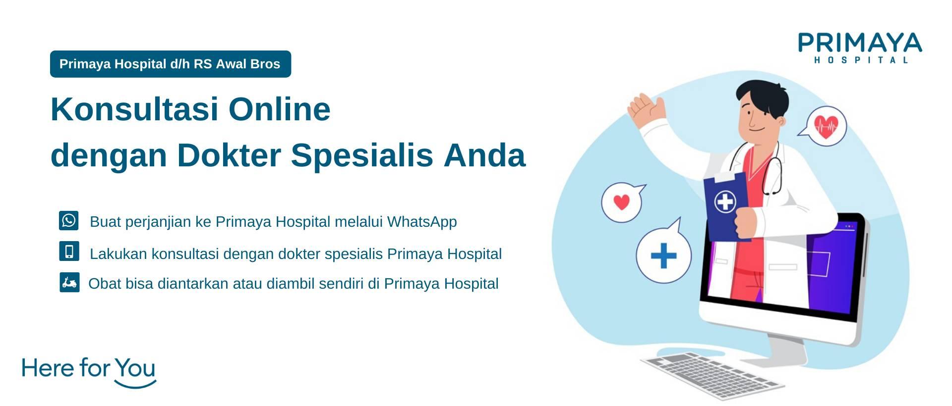 Konsultasi Online Rumah Sakit Primaya Hospital (1)