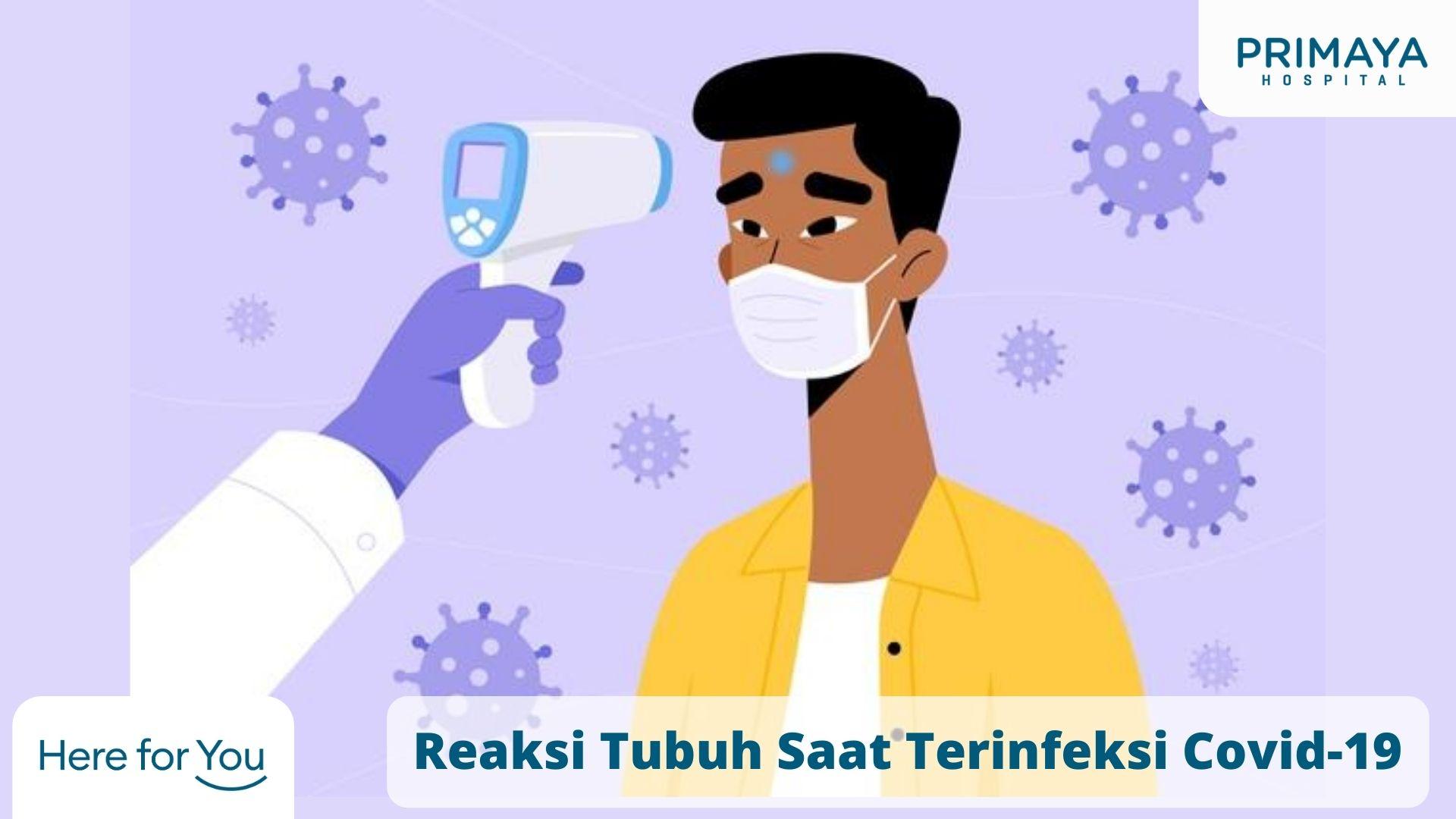 Reaksi Tubuh Saat Terinfeksi Covid-19