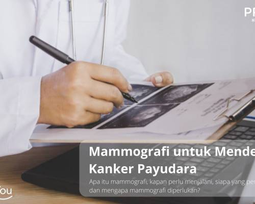 Pemeriksaan Mammografi untuk Mendeteksi Kanker Payudara