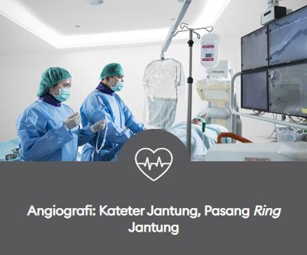 angiografi kateter jantung pasang ring jantung