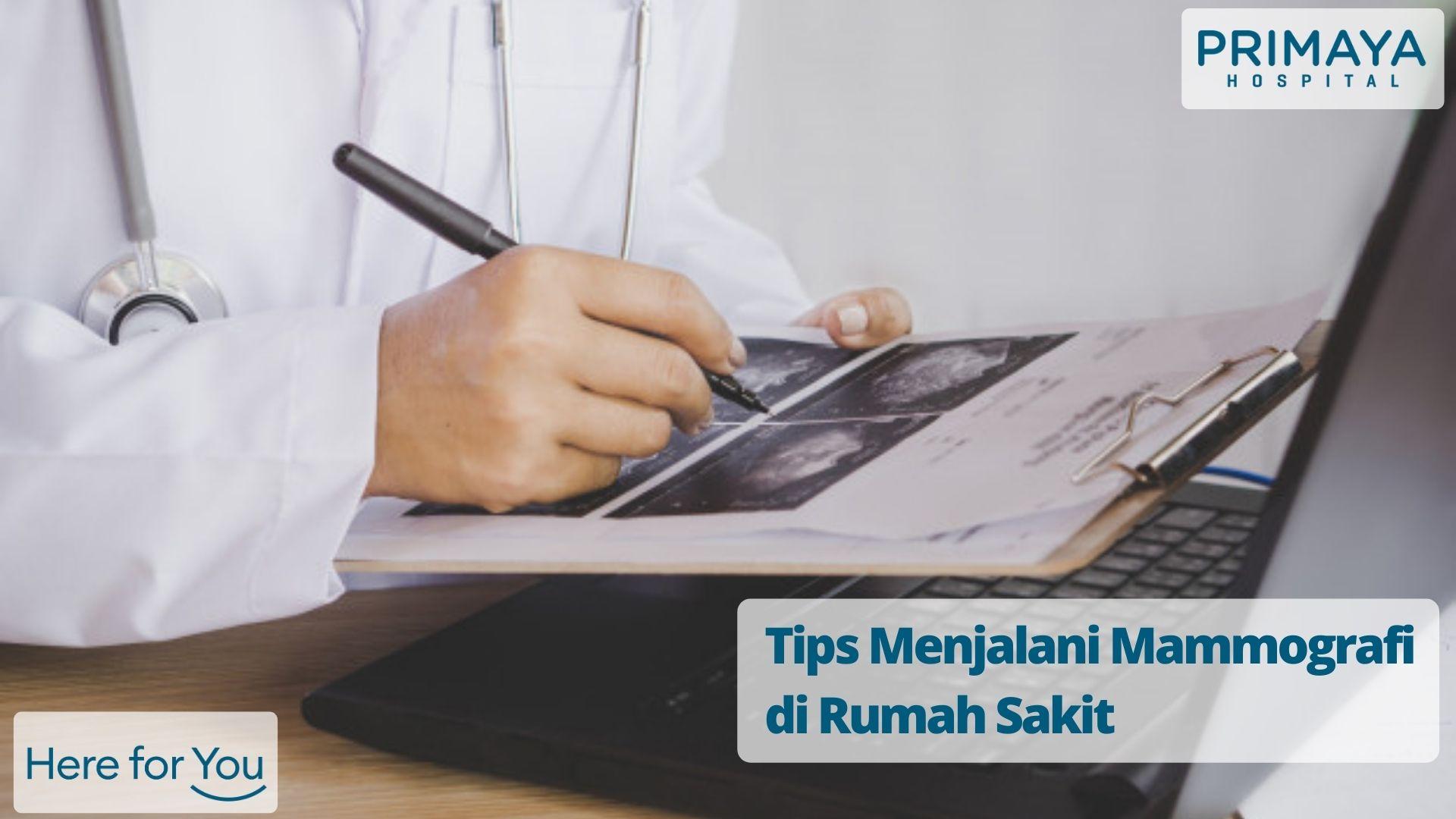 Tips Menjalani Mammografi di Rumah Sakit