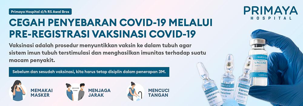Pendaftaran Vaksin Covid-19 1000x350