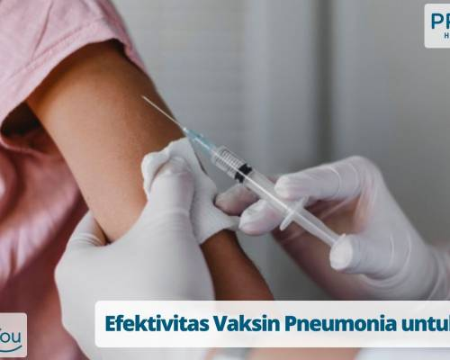 Efektivitas Vaksin Pneumonia untuk Anak