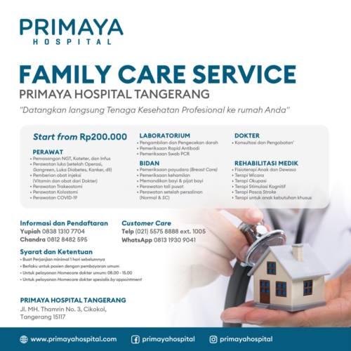 Promo Family Care Service - Tangerang