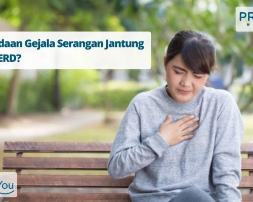 Perbedaan Gejala Serangan Jantung dan GERD_
