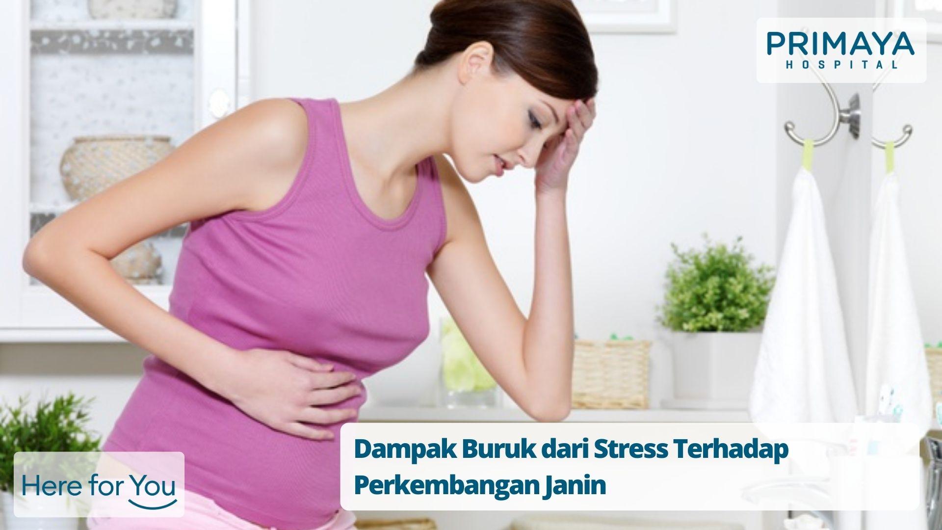 Dampak Buruk dari Stress Terhadap Perkembangan Janin