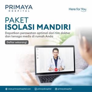 Paket Isolasi Mandiri Primaya Hospital