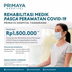 Paket Rehabilitasi Medik Pasca Perawatan Covid-19