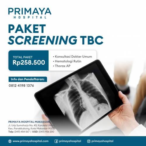 Paket Screening TBC Primaya Hospital Makassar