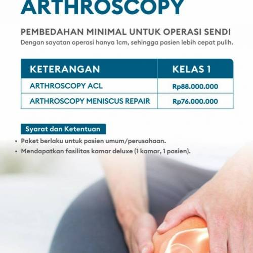 Paket Operasi Arthroscopy