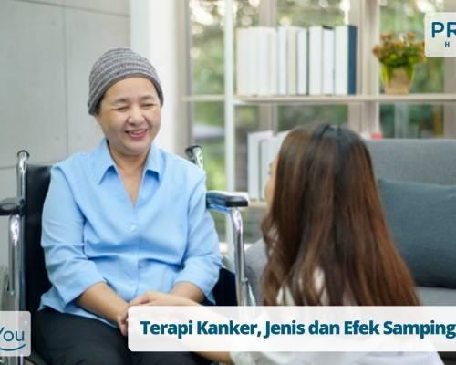 Terapi Kanker, Jenis dan Efek Sampingnya