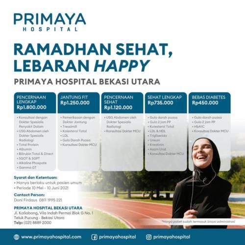 Promo Medical Check Up Ramadhan