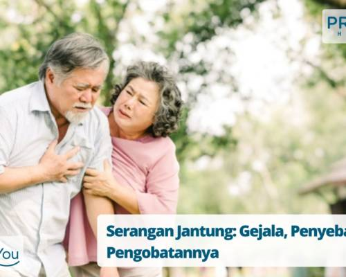 Serangan Jantung Gejala, Penyebab dan Pengobatannya