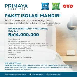 Paket Isolasi Mandiri Primaya Hospital Group