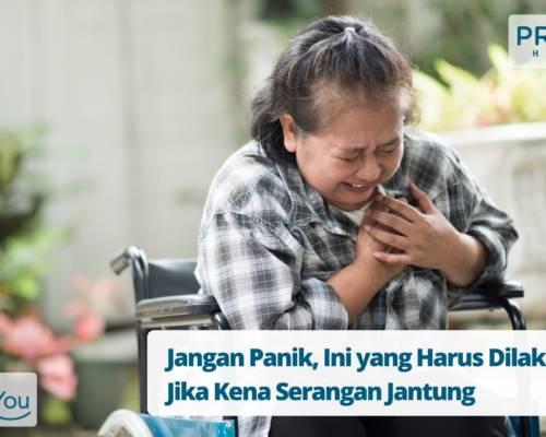 Jangan Panik, Ini yang Harus Dilakukan Jika Kena Serangan Jantung