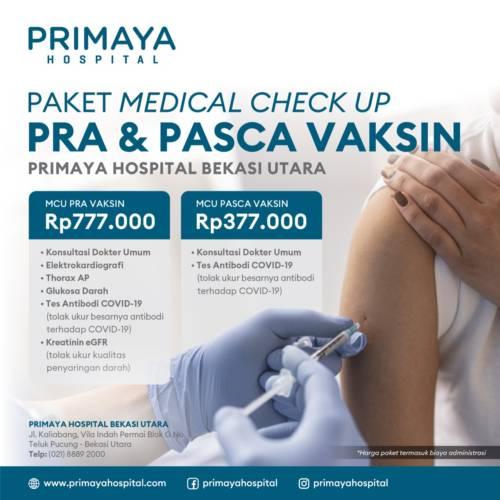 Paket MCU Pra dan Pasca Vaksin
