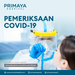 Paket Pemeriksaan Covid Swab Antigen PCR Rapid Test