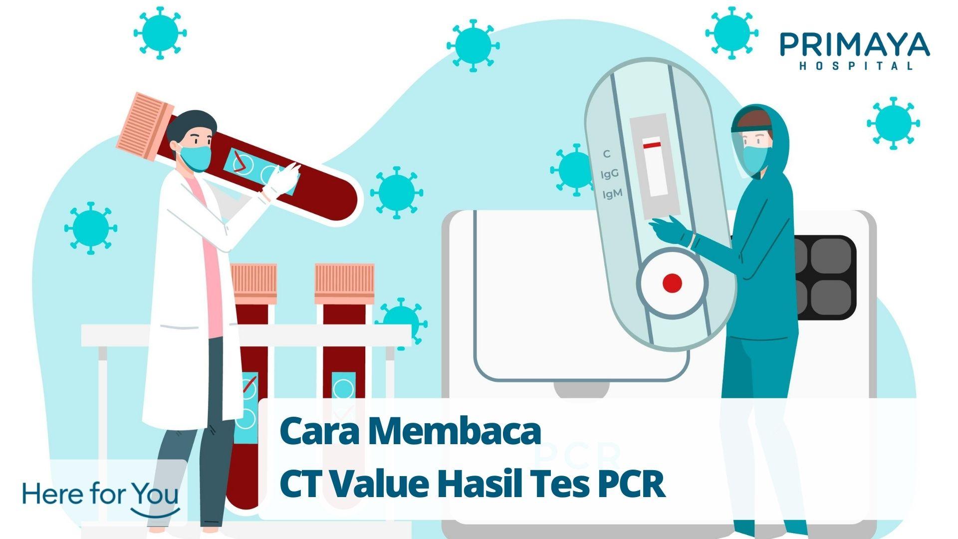 Cara Membaca CT Value Hasil Tes PCR