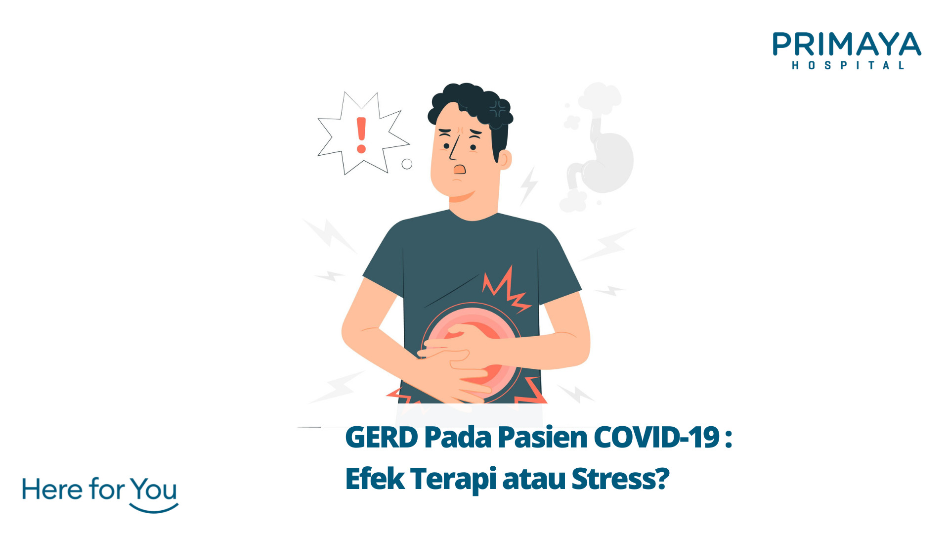 GERD Pada Pasien COVID-19 : Efek Terapi atau Stress?