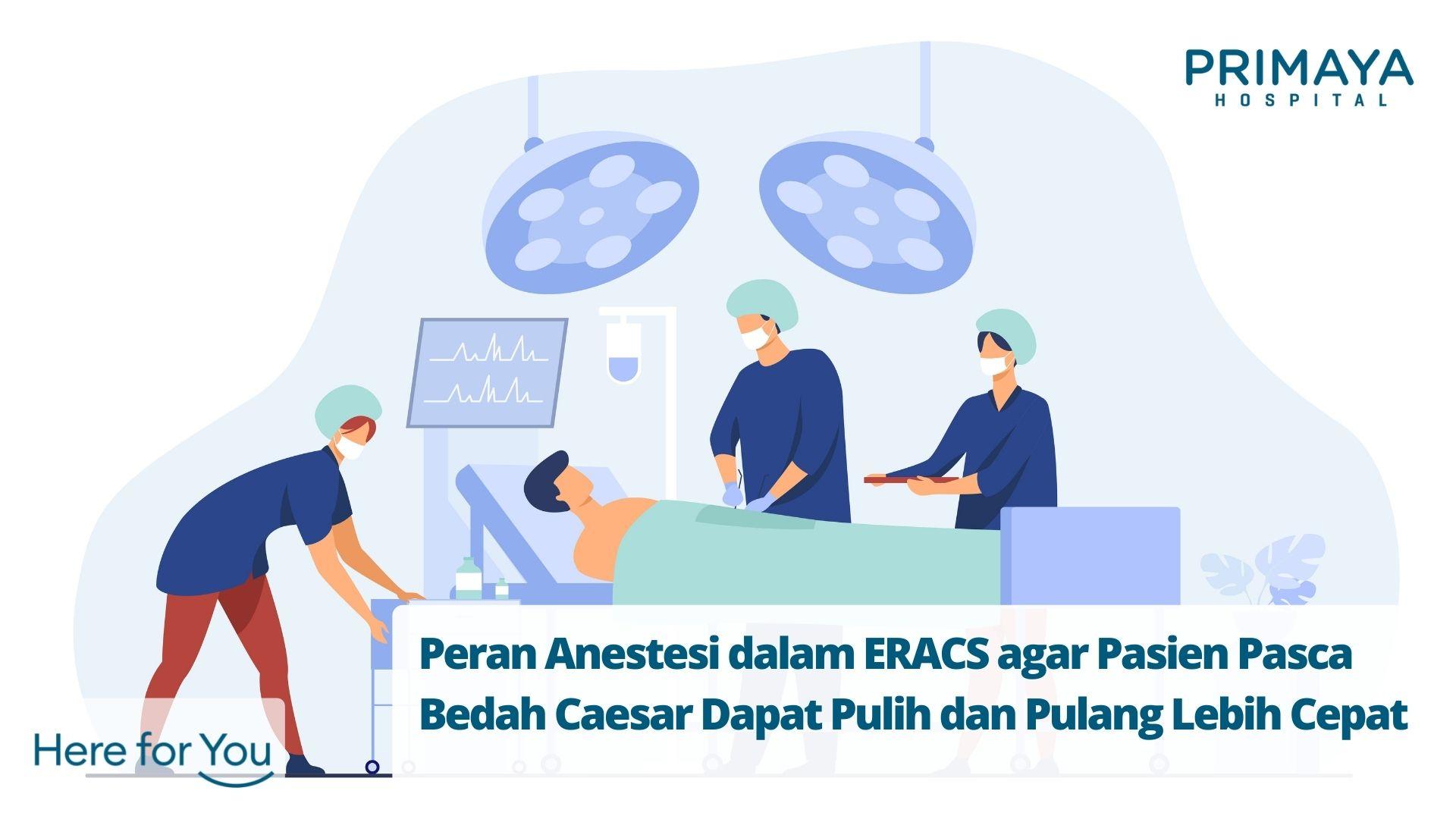 Peran Anestesi dalam ERACS