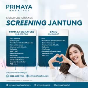 Screening Jantung Signature Package - Pemeriksaan Kesehatan