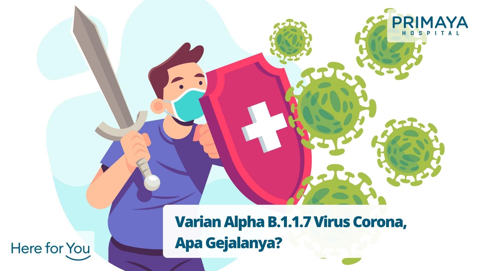 Varian Alpha B.1.1.7 Virus Corona, Apa Gejalanya?