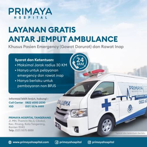 Layanan Gratis Antar Jemput Ambulance